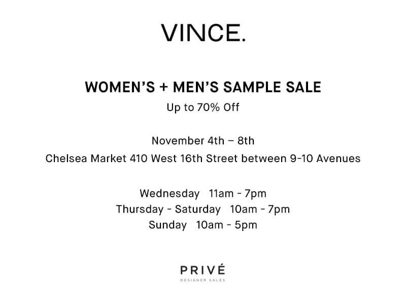 Sample Sales at Chelsea Market - Meatpacking District Official Website