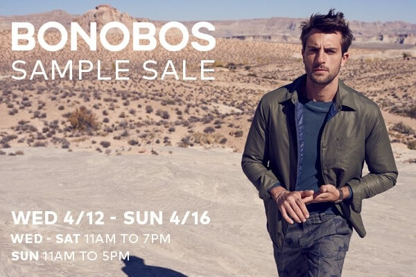 Bonobos Sample Sale at Chelsea Market - Meatpacking District ...