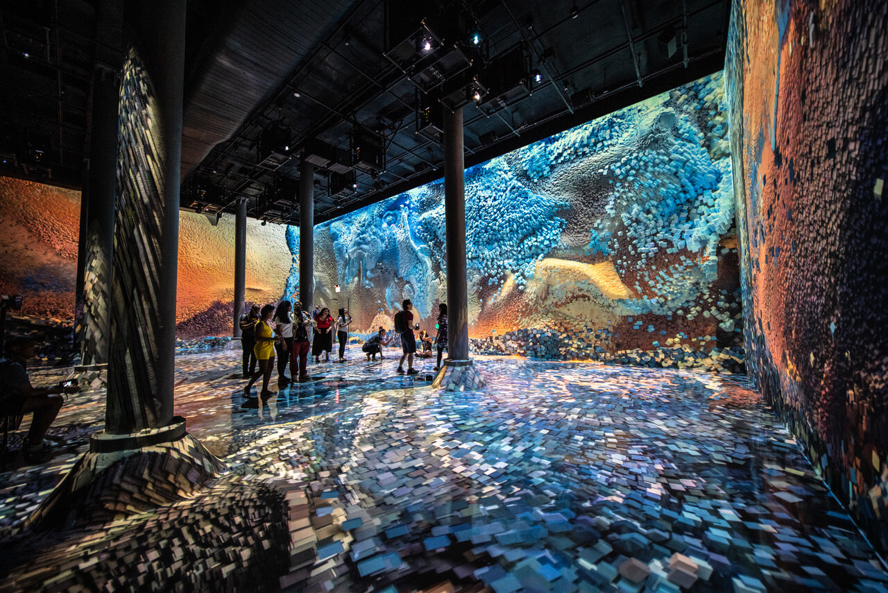 ARTECHOUSEs Newest Immersive Experience Submerges You in
