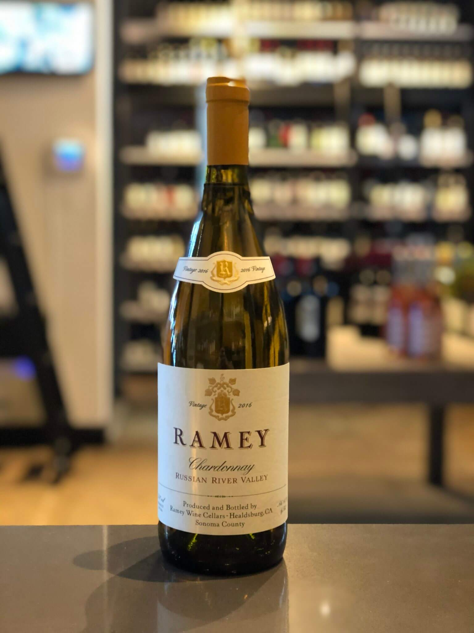 Ramey Wine Cellars, Russian River Valley Chardonnay 2016